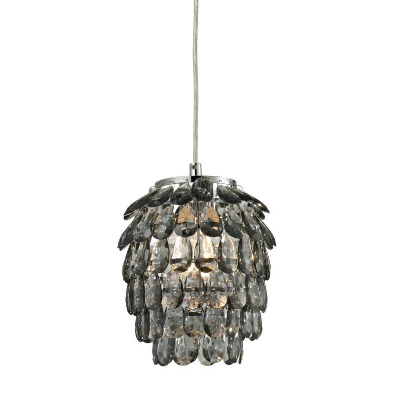 Sterling Industries 144-021 Kinloss 1 Light Mini Pendant Grey Smoke Sale $82.00 ITEM: bci2679417 ID#:144-021 UPC: 843558081981 :
