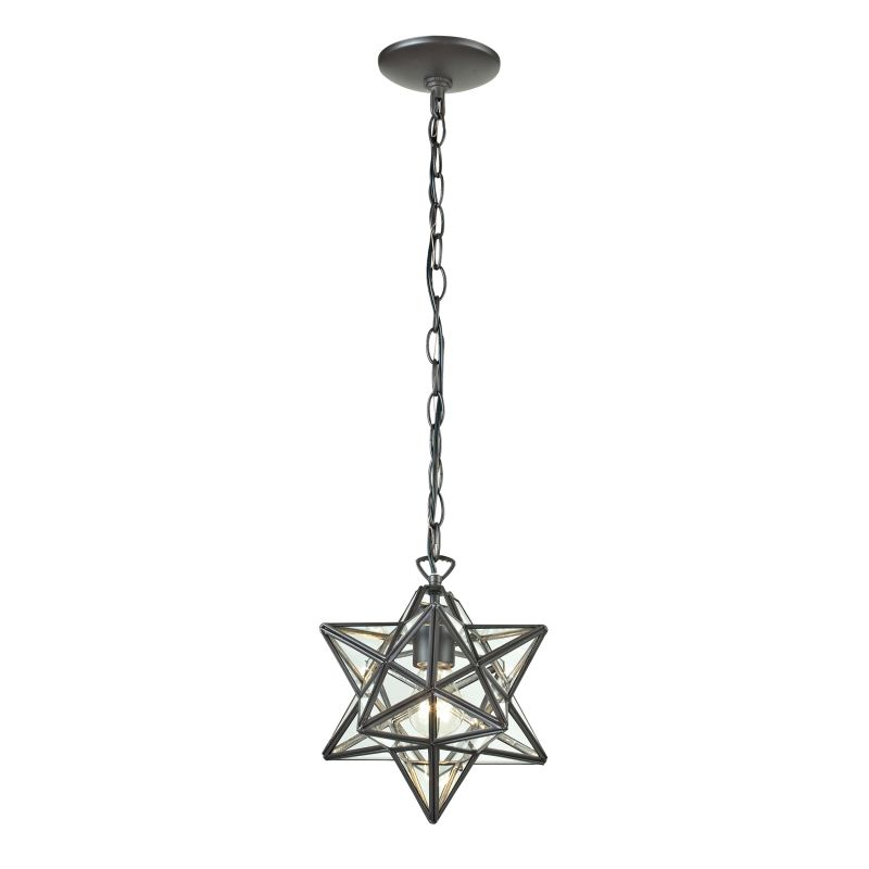 Sterling Industries 145-002 1 Light Full Sized Pendant Clear / Oiled Sale $166.00 ITEM: bci2679431 ID#:145-002 UPC: 843558082025 :