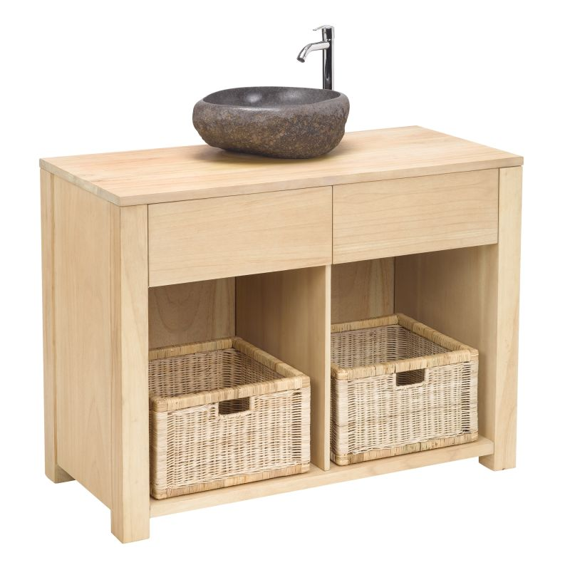Sterling Industries 150-007 Elegance Basin Cabinet Savannah Natural