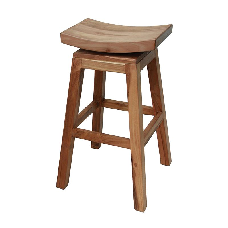 Sterling Industries 162-023 Swivel Barstool Mahogany Furniture Bar