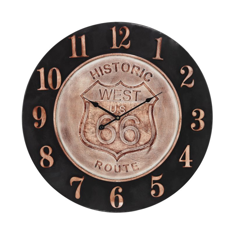 Sterling Industries 171-011 Americana Route 66 Analog Wall Clock