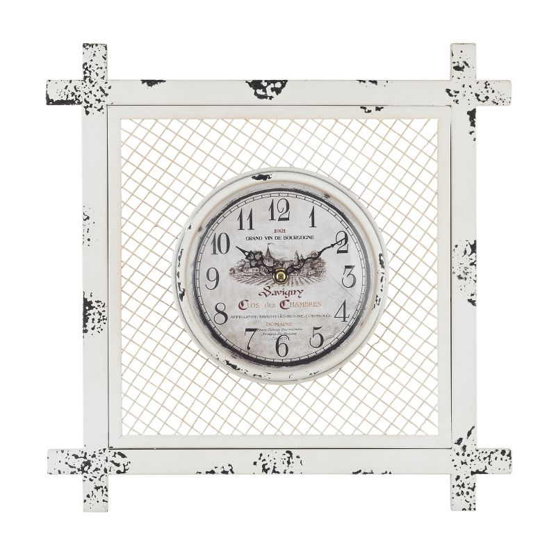 Sterling Industries 171-013 Vintage Style Analog Clock Distressed Sale $70.00 ITEM: bci2619991 ID#:171-013 UPC: 843558130993 :
