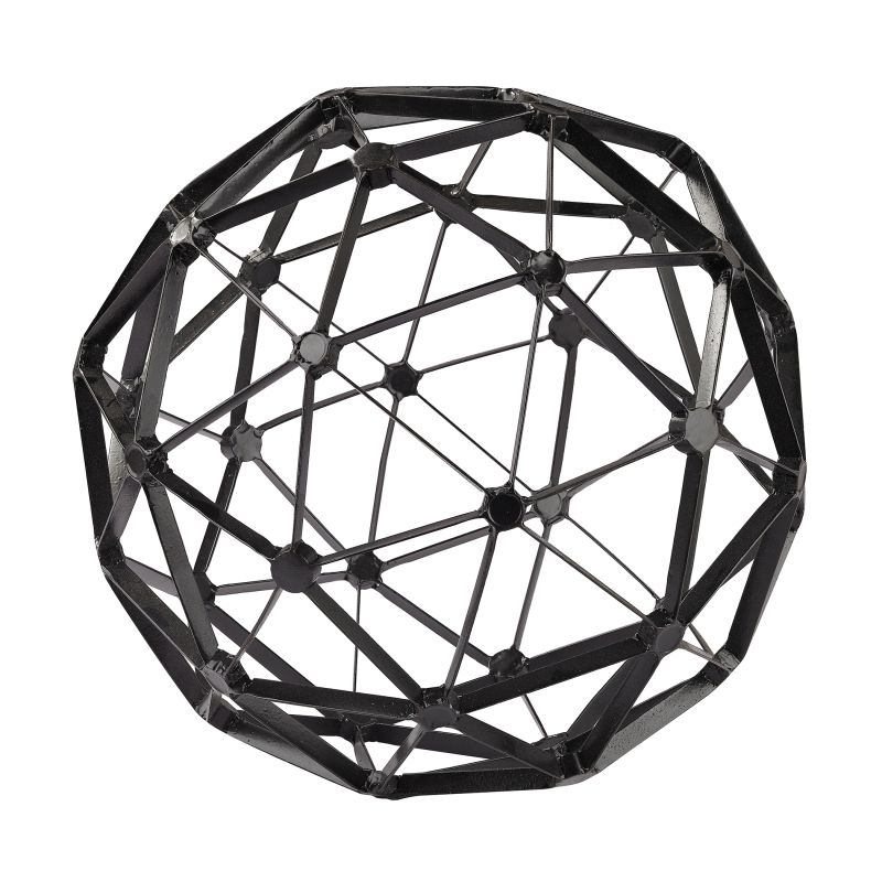 Sterling Industries 172-007 Black Structural Orb Figurine Black Home Sale $138.00 ITEM: bci2619999 ID#:172-007 UPC: 843558130498 :