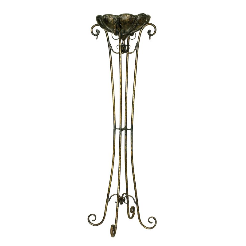 Sterling Industries 26-0002 Tall Fujian Plant Stand Weathered Gold Sale $198.00 ITEM: bci2275650 ID#:26-0002 UPC: 841406014020 :