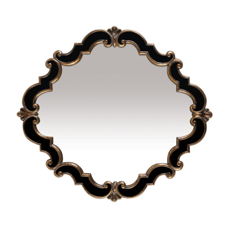 "Sterling Industries 40-2630M Greferick 35"" Height Mirror Gretna Gold /"
