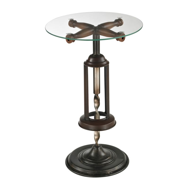 Sterling Industries 51-10086 Bordeaux Accent Table Mayfield Bronze