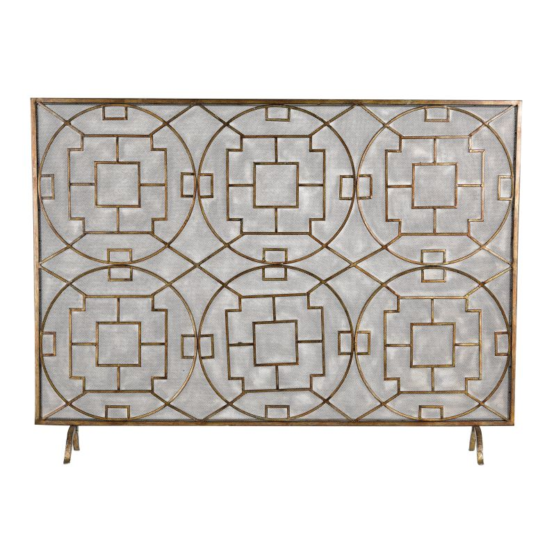 Sterling Industries 51-10160 Geometric Fire screen Elmford Home Decor Sale $238.00 ITEM: bci2620129 ID#:51-10160 UPC: 843558128389 :