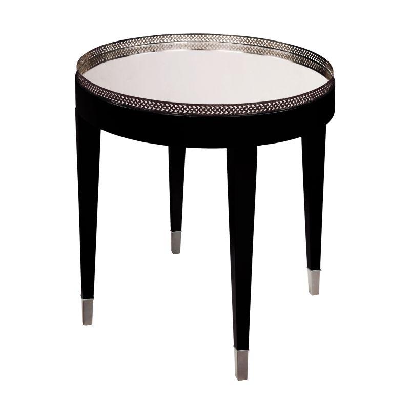 Sterling Industries 6042287 Black Tie Wooden Table Black Furniture End