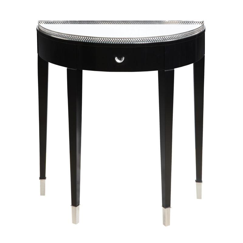 Sterling Industries 6042325 Black Tie Hall Table Black Furniture