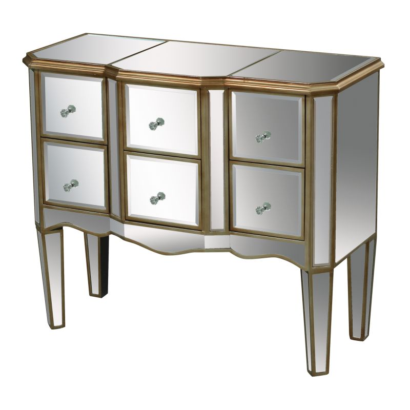 Sterling Industries 6043627 Antwerp Mirrored Dresser Mirrored