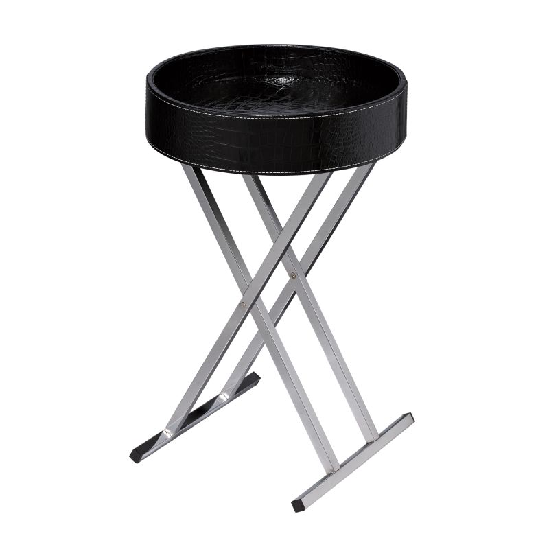 Sterling Industries 6043649 Felton Tray Table Black Black Furniture