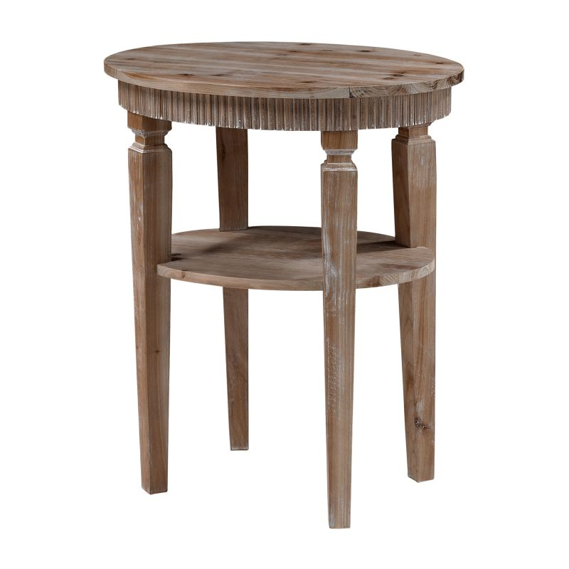 Sterling Industries 6043692 Bringham Accent Table Wood Furniture End