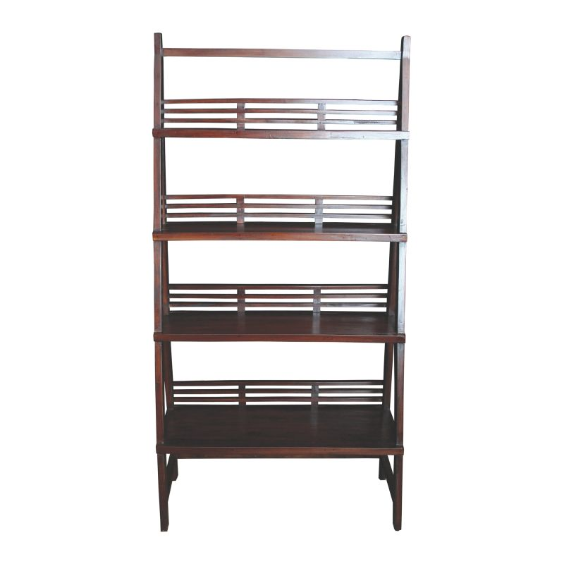 Sterling Industries 6500801 Solano Wooden Shelves Mahogany Furniture
