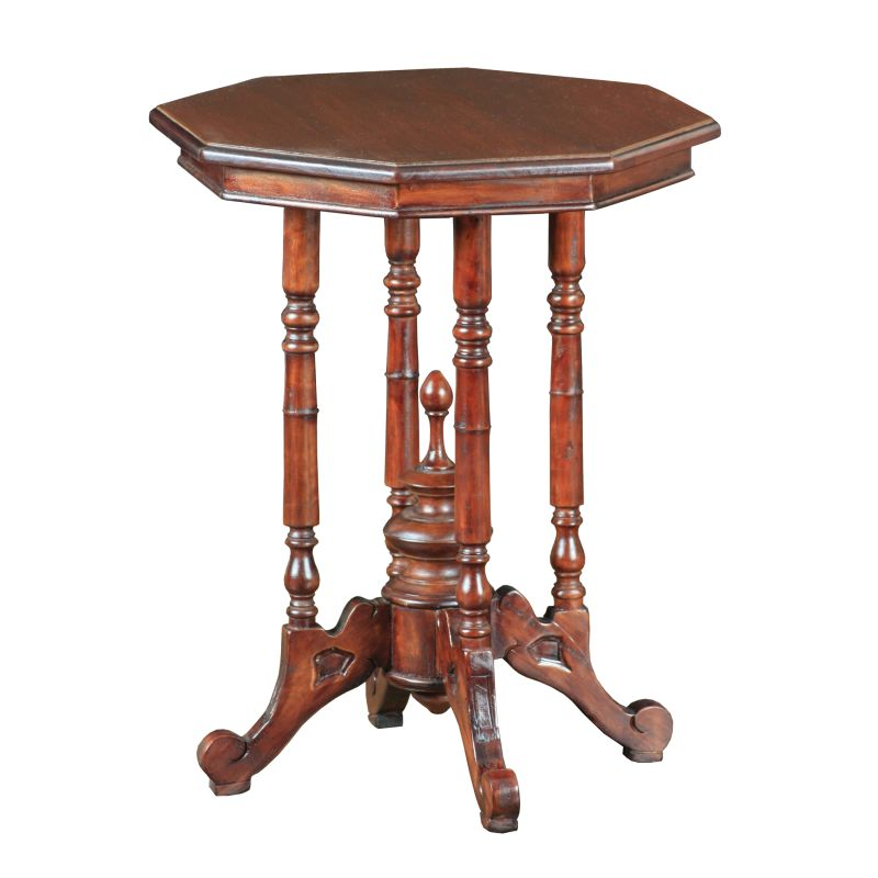 Sterling Industries 6500826 Hayford Accent Table Mahogany Furniture