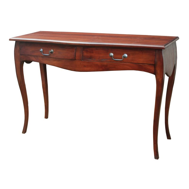 Sterling Industries 6500835 Groveland 2 Drawer Writing Desk Mahogany