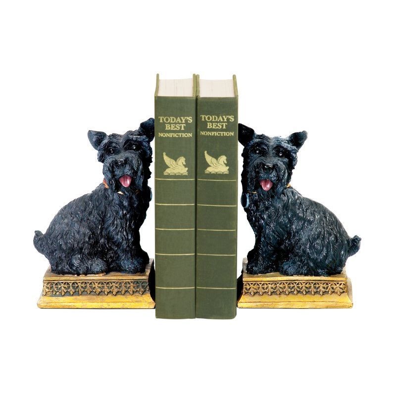 Sterling Industries 7-7092 Baron Bookends - Set of Two Black Home