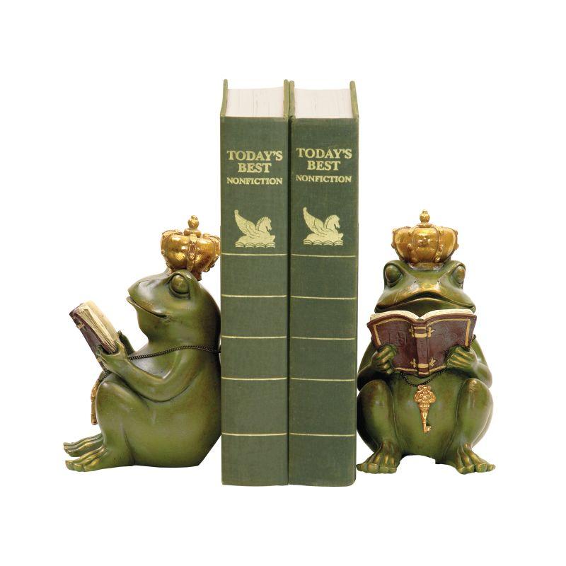 Sterling Industries 7-8188 Superior Frog Gatekeeper Bookends - Set of