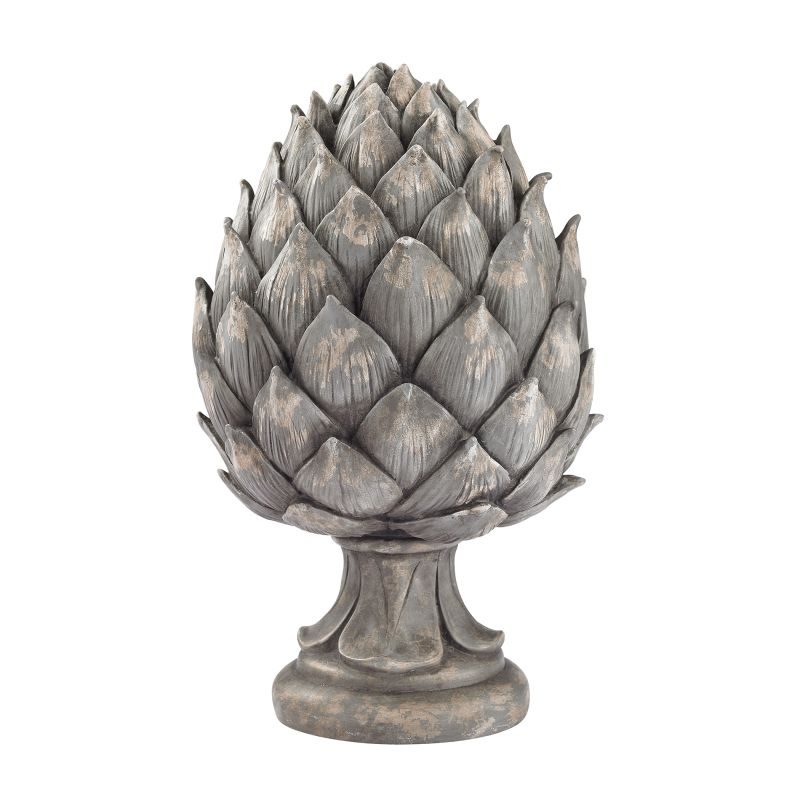 Sterling Industries 87-001 Aged Grey Artichoke Figurine Aged Grey Home