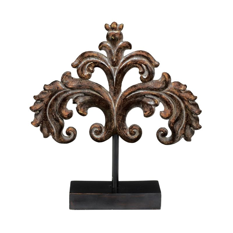 Sterling Industries 87-2624 Strauss Finial Decorative Piece Weathered Sale $36.00 ITEM: bci2275166 ID#:87-2624 UPC: 843558009152 :