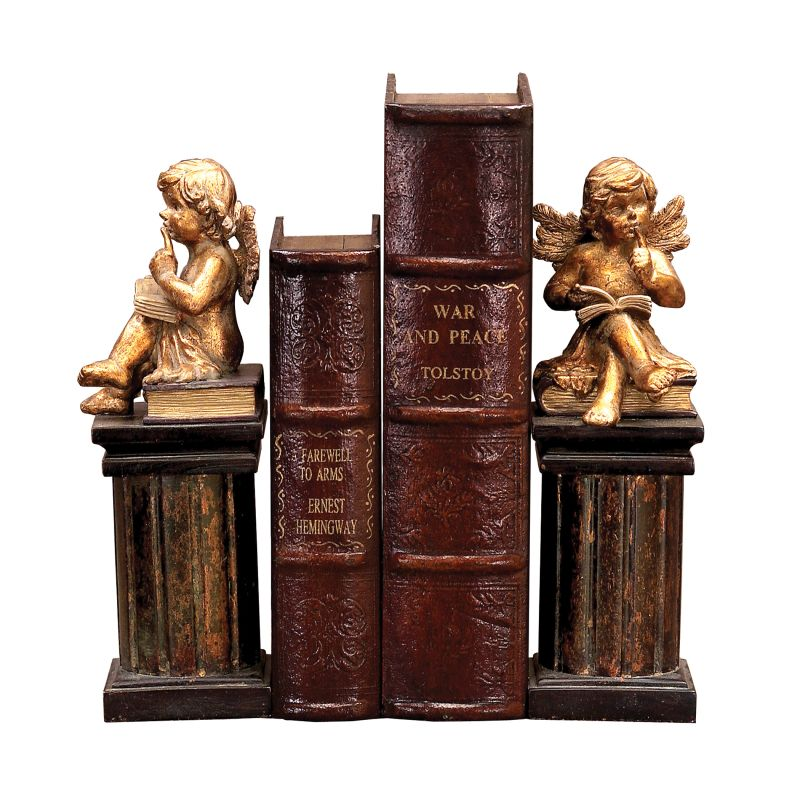 Sterling Industries 91-2221 Pair Thinking Cherub Bookends Thinking Sale $66.00 ITEM: bci2275239 ID#:91-2221 UPC: 841406002775 :