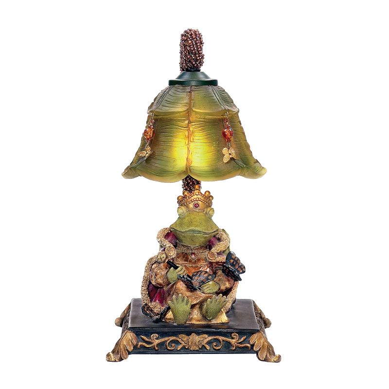 Sterling Industries 91-331 1 Light Queen Frog Mini Table Lamp with