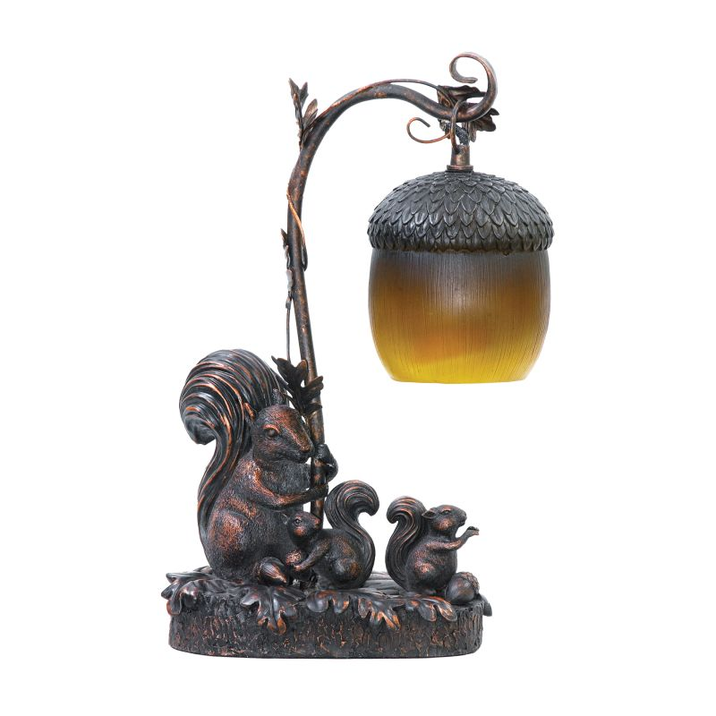 Sterling Industries 91-768 1 Light Squirrel Mini Table Lamp with Acorn Sale $118.00 ITEM: bci2275284 ID#:91-768 UPC: 841406017823 :