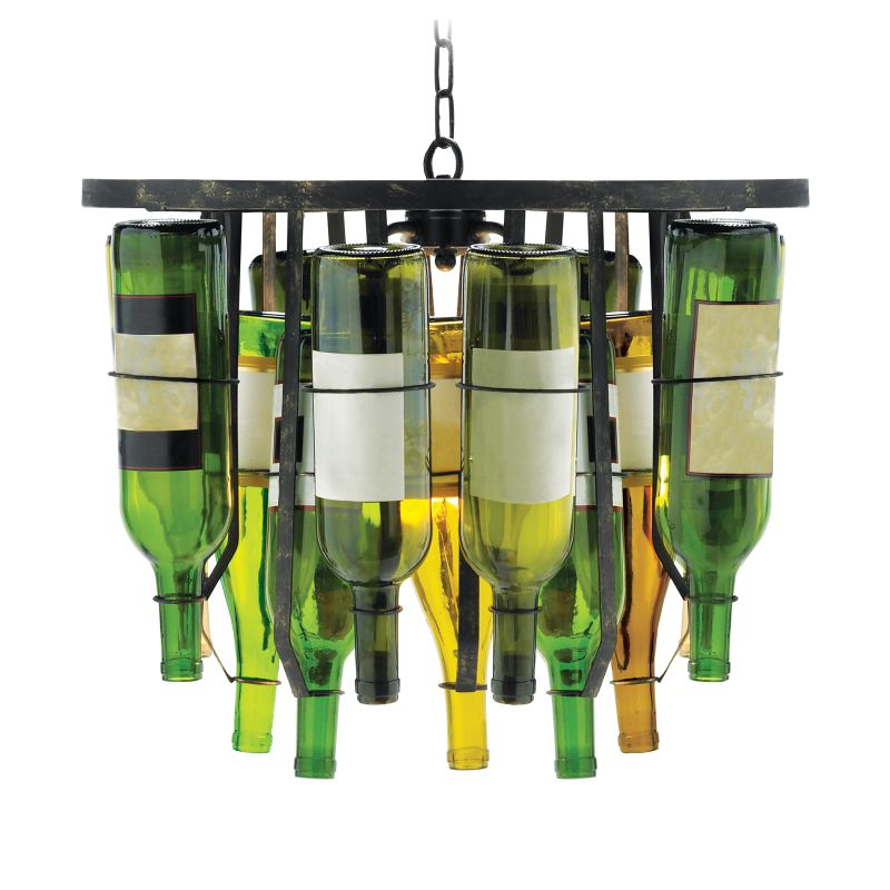 Sterling Industries 93-139 2 Light Down Lighting Pendant Green /