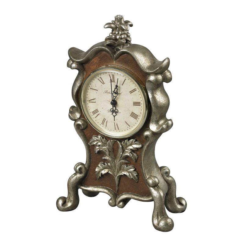 Sterling Industries 93-19322 Analog Desk Clock Scholes Silver Home