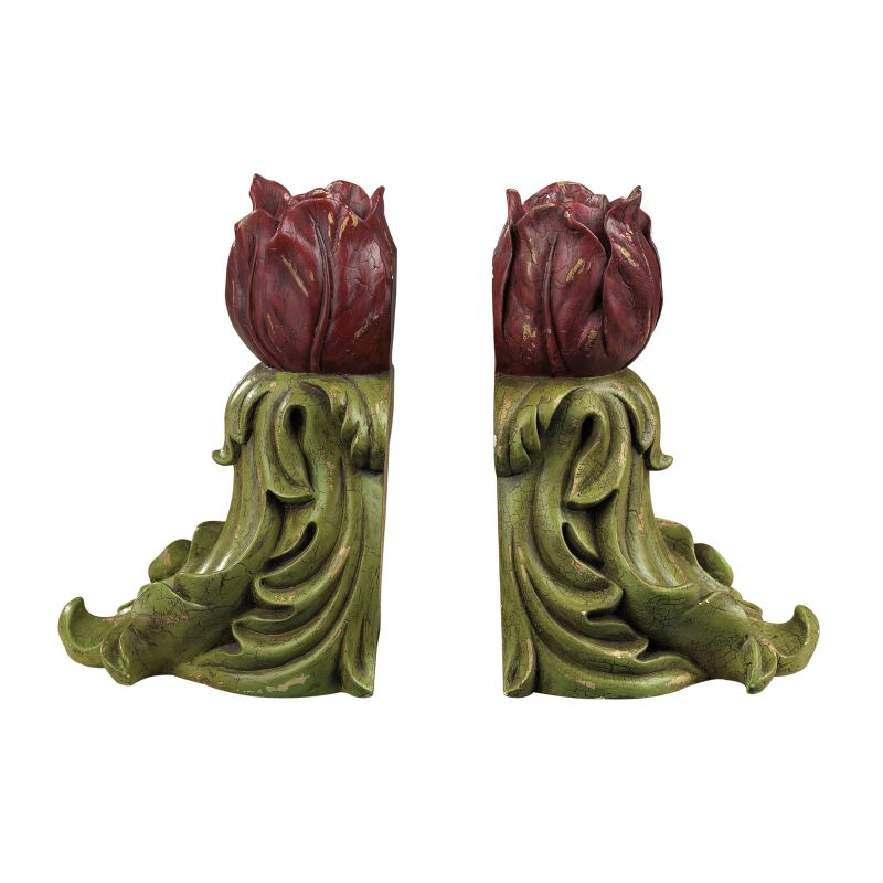 Sterling Industries 93-9061 Rosebud Bookends Rosebud Home Decor Sale $64.00 ITEM: bci2275448 ID#:93-9061 UPC: 843558026807 :