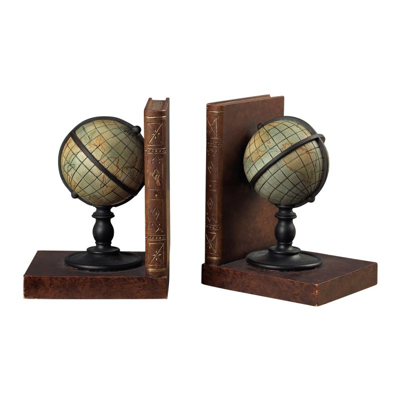 Sterling Industries 93-9224 Atlas Book Ends Atlas Home Decor Bookends