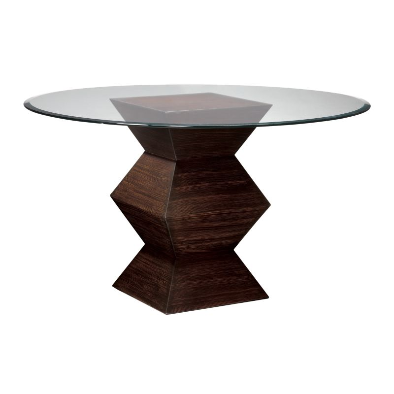 """Sterling Industries 5006700 30.5"""" Height Hohner Table Zebrano 46"""""""
