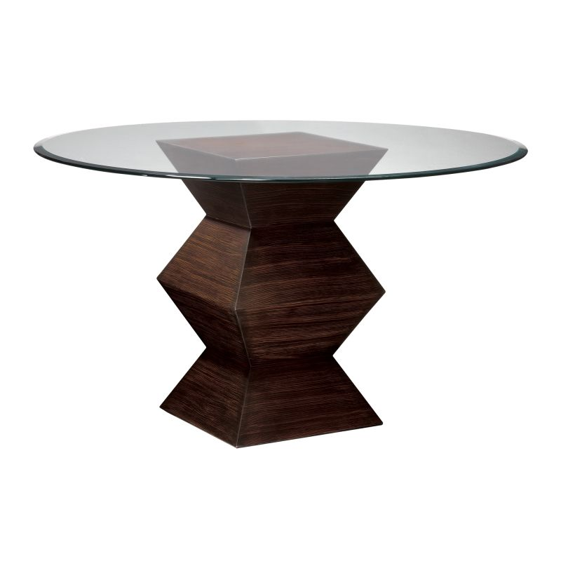 """Sterling Industries 5006800 30.5"""" Height Hohner Table Zebrano 54"""""""