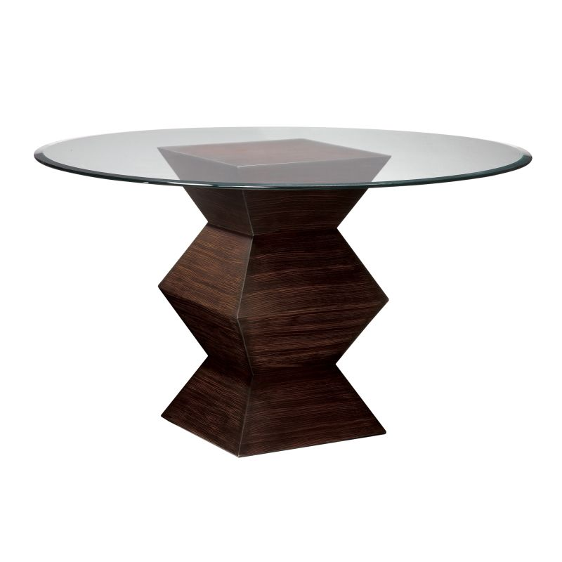 """Sterling Industries 5006900 30.5"""" Height Hohner Table Zebrano 46"""""""