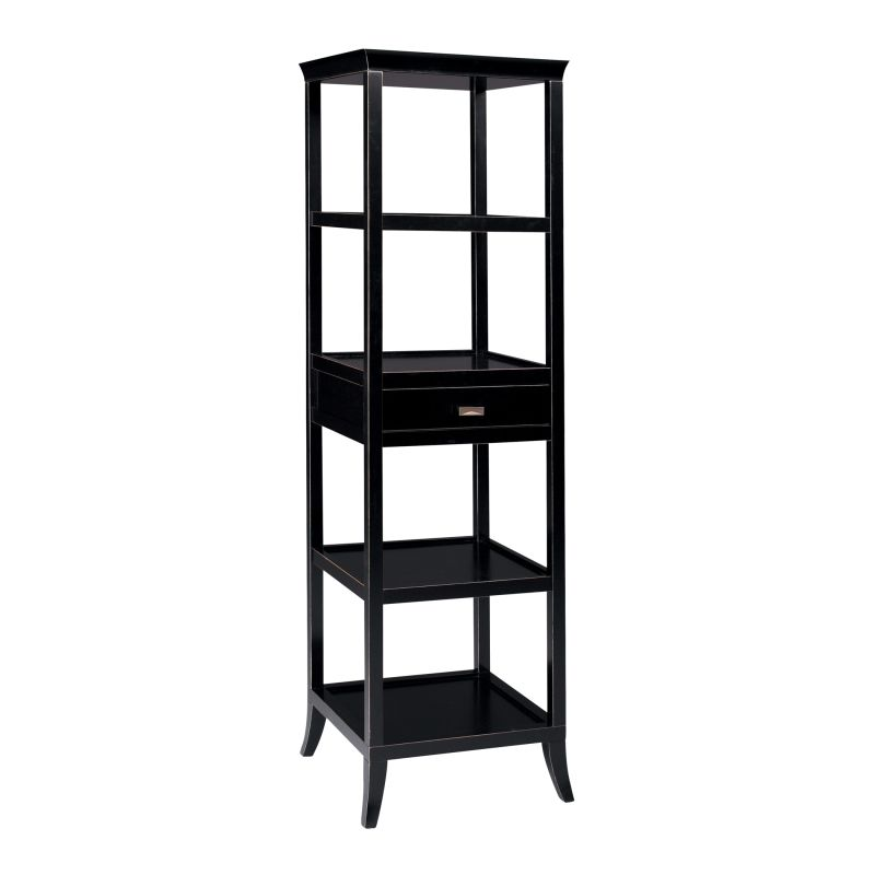 "Sterling Industries 6040995 72"" Height Ebony Tamara Tower Ebony"