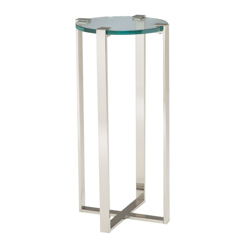 "Sterling Industries 6041037 36"" Height Uptown Plant Stand Polished"