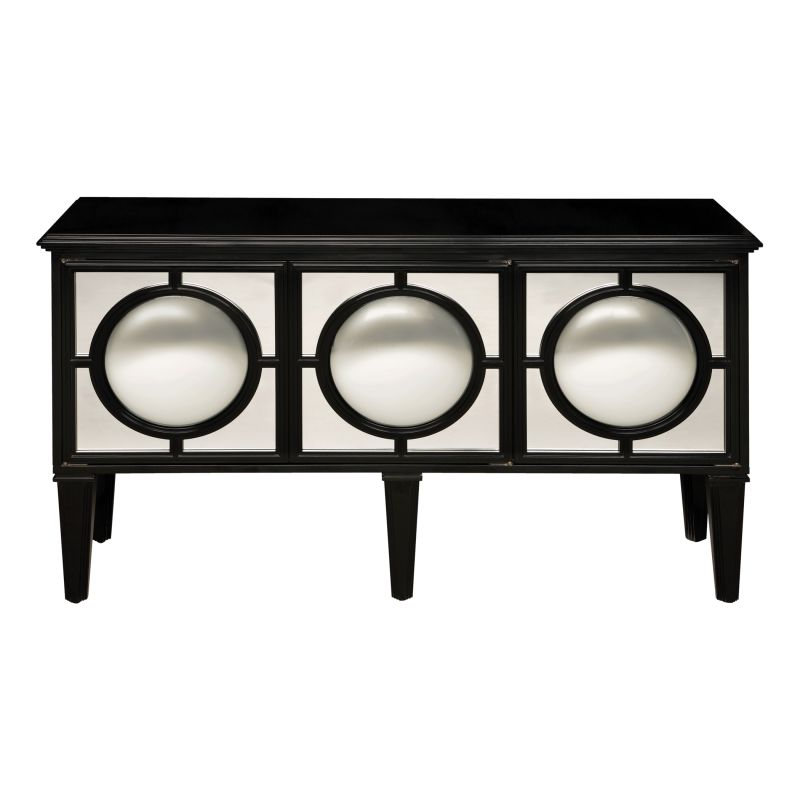 "Sterling Industries 6042473 33"" Height Mirage Sideboard Ebony"