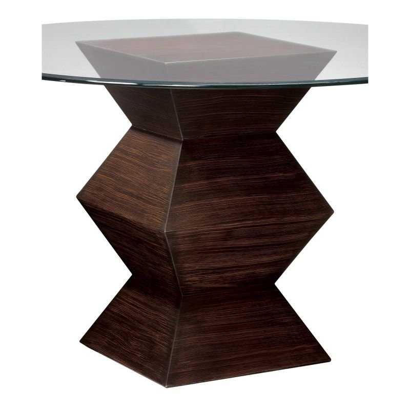 """Sterling Industries 6043240 30"""" Height Hohner Zebrano Table Base"""