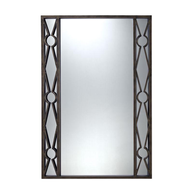 """Sterling Industries 6050684 36"""" Height Rectangular Cassero Mirror"""