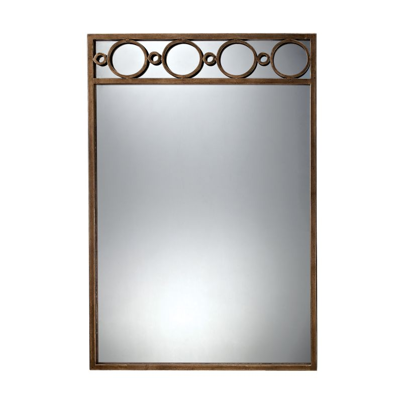 "Sterling Industries 6050685 36"" Height Rectangular Violeto Mirror Gold"