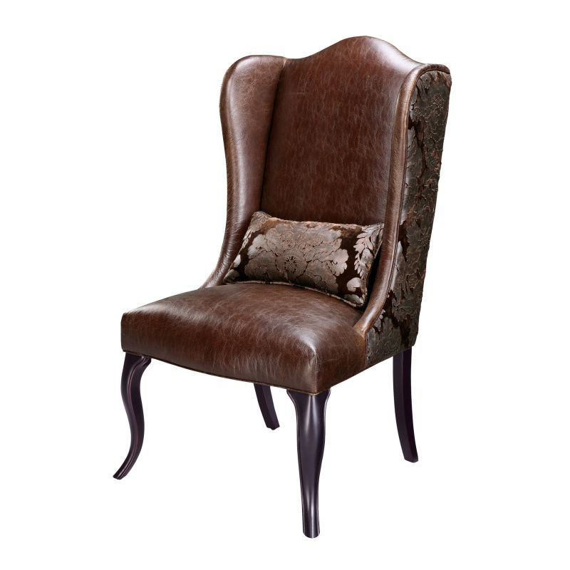 "Sterling Industries 6070809 47.25"" Height Pullman Accent Chair Brown"