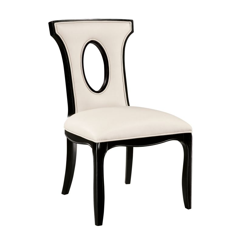 "Sterling Industries 6070922 38.25"" Height Alexis Side Chair Ivory"