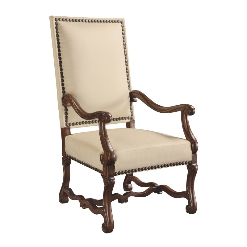 "Sterling Industries 6071031 46.25"" Height Lassiter Accent Chair Bone"