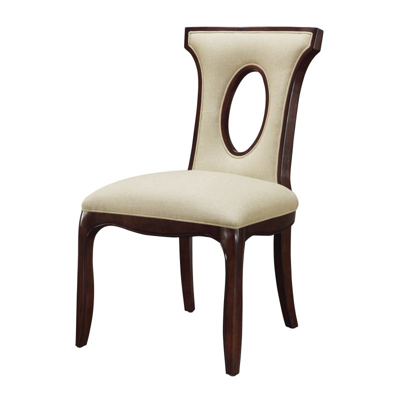 "Sterling Industries 6071244 38.25"" Height Blakemore Side Chair Ecru"