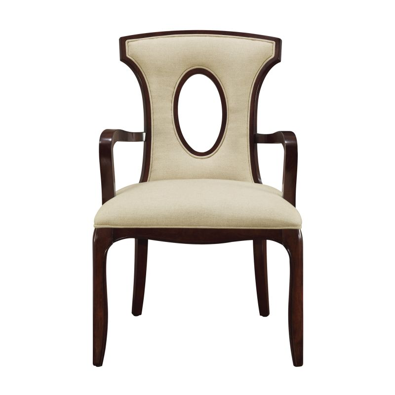 "Sterling Industries 6071252 38.25"" Height Blakemore Arm Chair Ecru"