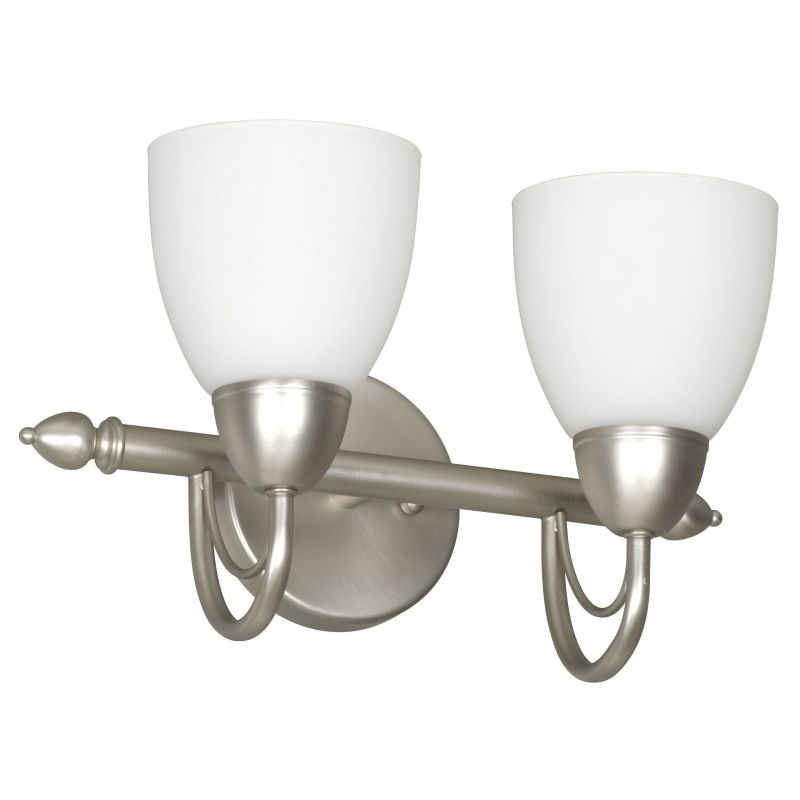 Sunset Lighting F2492 Tempest 2 Light 200 Watt Bathroom Vanity Light
