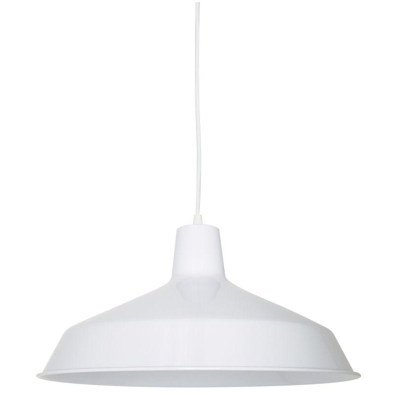 "Sunset Lighting F3513-30 White 1 Light 150 Watt 7"" Height"