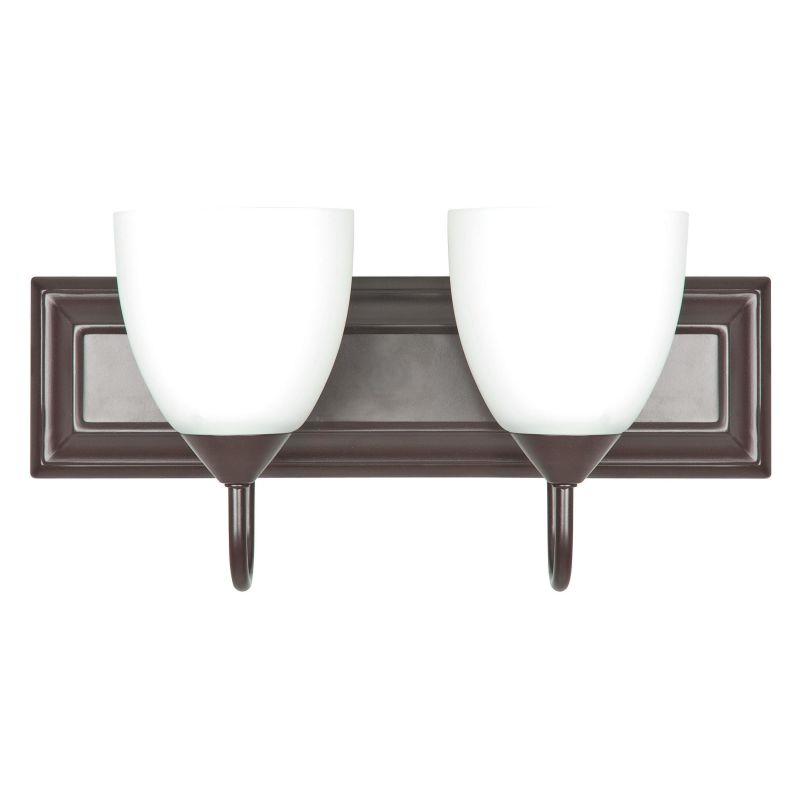 Sunset Lighting F3622-44 Oil Bronze 2 Light 200 Watt Bathroom Vanity Light - LightingDirect.com