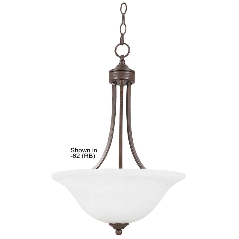 "Sunset Lighting F5161 Metropolitan 3 Light 180 Watt 23"" High Bowl"