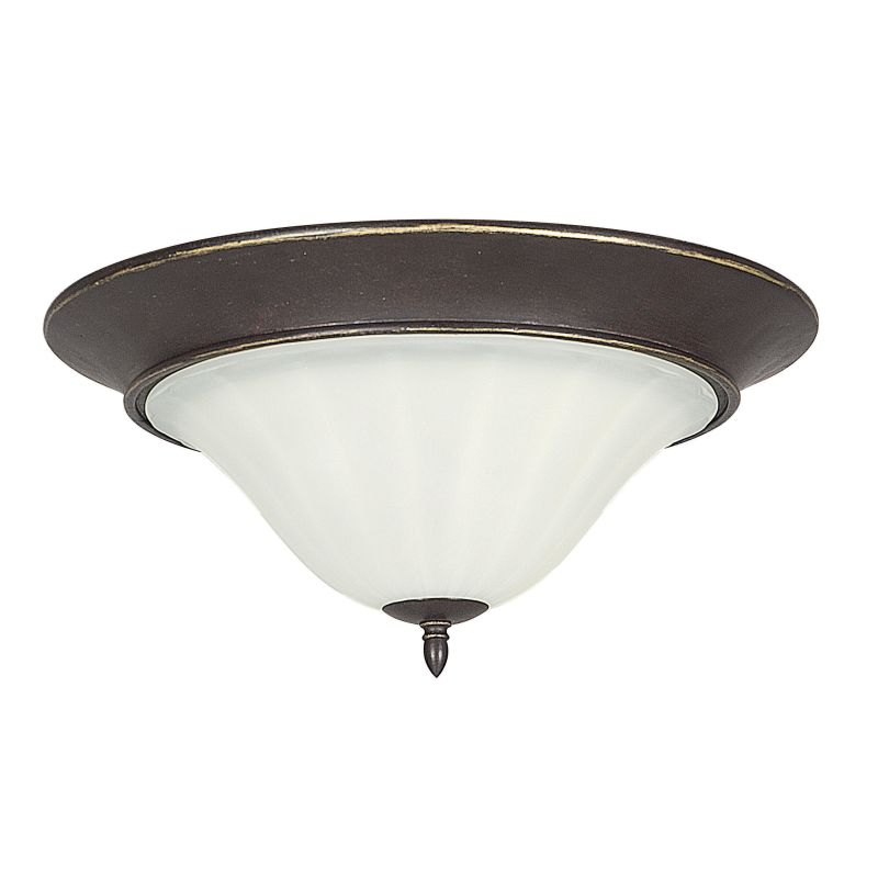 "Sunset Lighting F5227 Taurus 2 Light 200 Watt 18"" Wide Flush Mount"