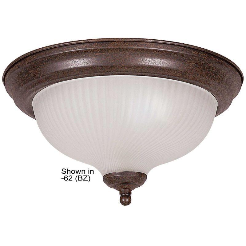 """Sunset Lighting F7510 2 Light 120 Watt 12"""" Wide Flush Mount Ceiling"""